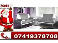 Special Sale For Christmas---- Brand New Carol Leather 3 and 2 Seater Sofa Available