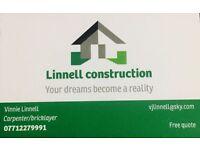 Carpenter/ bricklayer/ builder/handyman/ garden maintenance / landscape&fencing