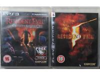 SONY PLAYSTATION 3 PS3 RESIDENT EVIL 5 OPERATION RACOON CITY GAMES COLLECTION PS4 XBOX 1 360 GTA 5
