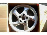 "Porsche 911 996 Turbo Twist 18"" Alloy Wheels 7.5Jx18 ET50"