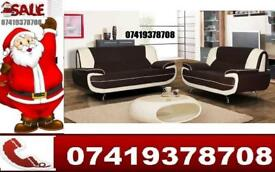 New Carol Leather 3 and 2 Seater Sofa Available in Different Color Combinations