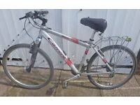 CARRERA VULCAN MOUNTAIN BIKE with frame and spare tyres / innner tubes