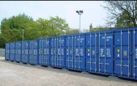 Secure container storage quite location CCTV monitored £18.00 per week