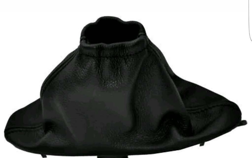 Leather Gaiter for Parking Brake