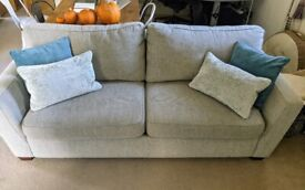 3 seater sofa bed plus a 2 seater cuddle sofa