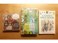 BOOK BUNDLE - The January Man, The complete Garden Bird book, The Flea Markets of France