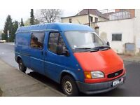 LHD - FORD TRANSIT 2.5 - LONG WHEEL BASE - LEFT HAND DRIVE - EXPORT - AFRICA - DIESEL