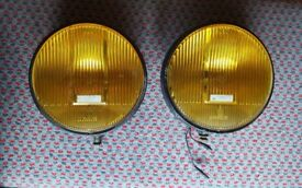 Bosch Amber Spot Lights / Fog Lamps. May suit 4x4, land rover, truck, rally car