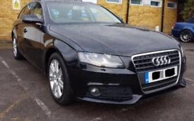 2011 Reg AUDI A4 AVANT 2.0 TDI SE MULTITRONIC - BLACK - CAMBELT CHANGED - LADY OWNER