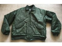 Cold weather flying jacket