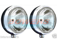Black Cibie Mini Oscar LED Lamp Light For Rally Racing Road Car