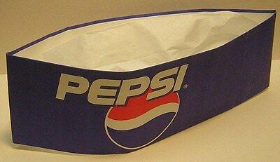 "VINTAGE PEPSI ""Soda Jerk Hat""..blue..Mint!"