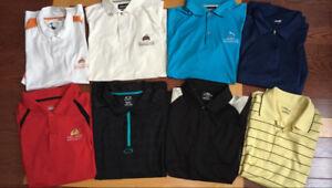 Men's golf shirts (XL)