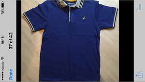 Boys Nautica Shirt. Size 14-16. New