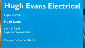 Hugh Evans Electrical Highland Park Gold Coast City Preview