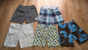 American Eagle and Old Navy boardshorts