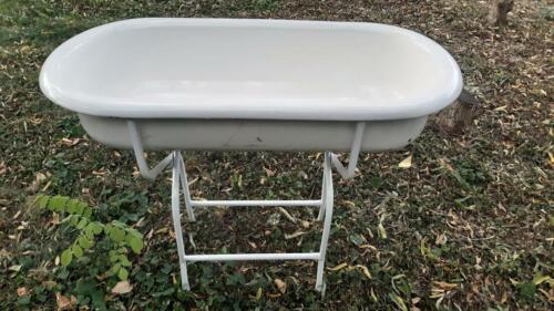 PORCELAIN Enamel baby bath tub,laudry basin, farmhouse sink,wash stand