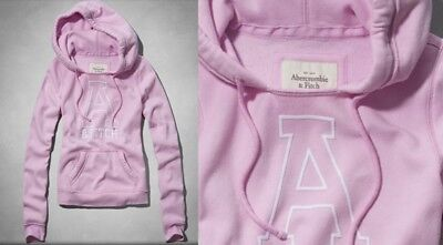 Used, Abercrombie & Fitch by Hollister Women Hoodie - Pink, size M for sale  Shipping to India