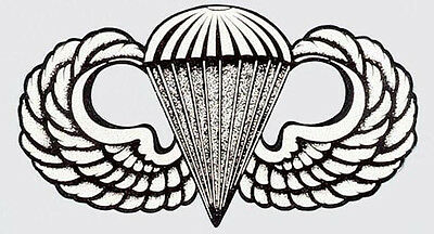 US ARMY AIRBORNE STICKER - MADE IN THE USA!!