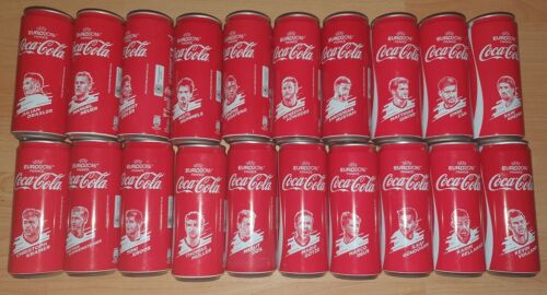 Coca-cola cans football players from Germany