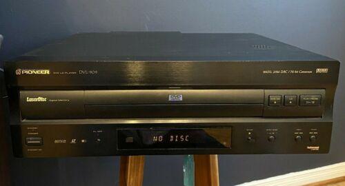 PIONEER DVL-909 DVD LD PLAYER LASER DISC 96KHz 20BIT Tested *READ DESCRIPTION*