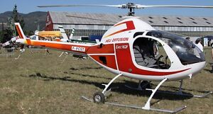 Exec 162-F Heli Diffusion RotorWay 162F Helicopter Wood Model Replica Large New