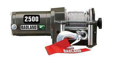 2500 lb ATV Utility Electric Winch Wireless Remote Control Hoist Garage Hardtop