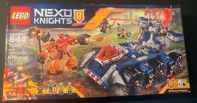 LEGO Nexo Knights: Axl's Tower Carrier 70322 NEW Factory Sealed Retired