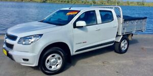 2015 Holden Colorado RG MY16 LS (4x4) 6 Speed Automatic Crew Cab Chassis