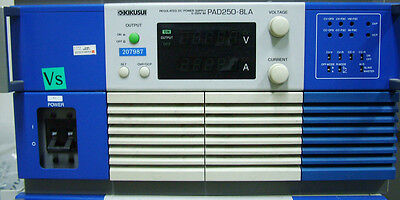 Kikusui Pad250-8la Power Supply Dc