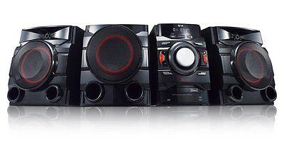 New LG CM4550 700W 2.1 Channel Mini Shelf Bluetooth Subwoofer Speaker System