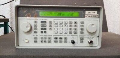 Hpagilent 8647a 250khz-1000mhz Signal Generator Unit 4 Read
