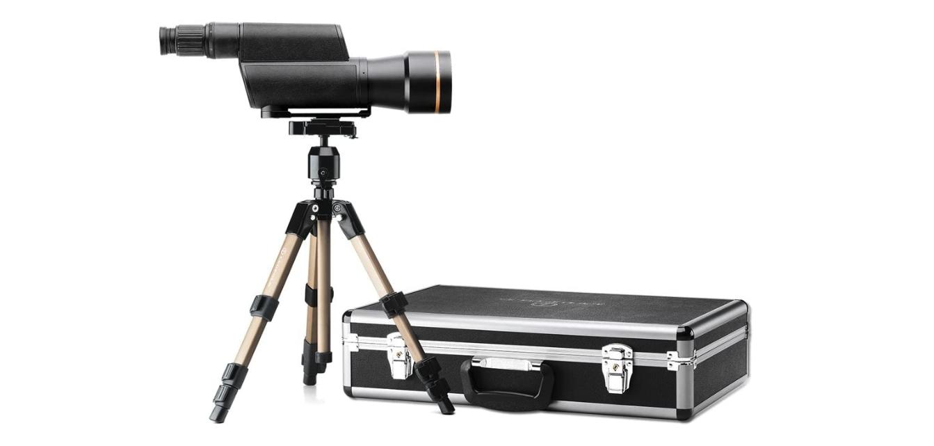 Leupold Golden Ring 20-60x80mm Spotting Scope Kit Shadow Gra