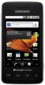 New Samsung Galaxy Prevail SPH-M820 Black Boost Mobile Android Ready to Activate
