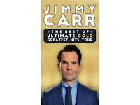3 x Jimmy Carr: The Best Of, Ultimate, Gold, Greatest Hits Tour Tickets (Swansea Grand Theatre)
