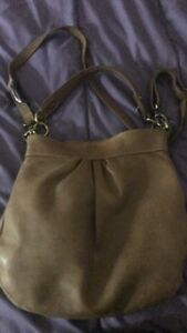 "Real leather Roots ""Olivia"" bag"