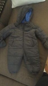 Baby GoPod, Nike snowsuit & Angelcare monitor