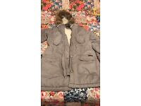 Ladies grey Abercrombie & Fitch jacket