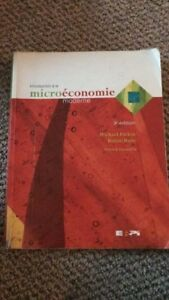 Introduction à la microéconomie moderne- M. Parkin et R.Bade 3ed