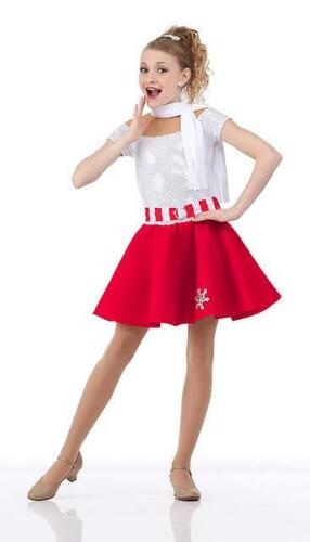 Child 6X7 Snowflake Hop Christmas Dance Costume