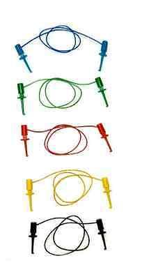 Tl-21 Minigrabber To Minigrabber 5pc Ic Test Lead Set
