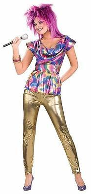 80's Pop Video Star 1980 Ladies Adult Costume - 1980s Pop Stars