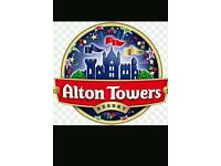 2 for 1 ticket for alton towers
