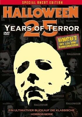 Michael Myers - Halloween 25 Years Of Terror - sin Cortes Special 2 DVD Edition - 25 Years Of Halloween