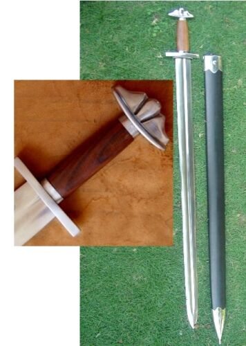 10th Century (Early) Viking Full Tang Tempered Battle Ready Handmade Sharp Sword