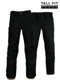 Skiing Pants Black XL Tall Ski Trousers 686 Men's Authentic SMARTY 3-In-1 winter bottoms