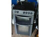 Black halogen top electric cooker. Can deliver.