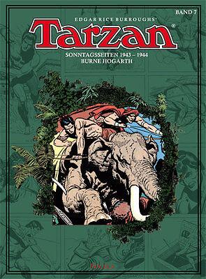Tarzan Sonntagsseiten, BOCOLA Verlag, Band 7, 1943 - 1944, Burne Hogarth