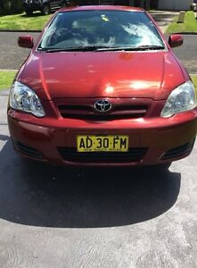 Toyota Corolla manual Campbelltown Campbelltown Area Preview