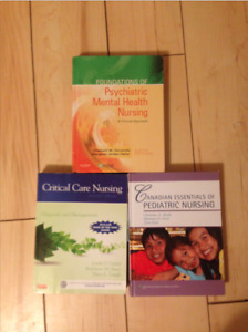 3 Nursing textbooks for sale!